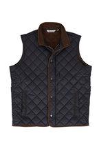 Peter Millar - Essex Black Quilted Nylon Vest