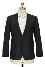 Atelier Munro - Green Tonal Check Wool Suit