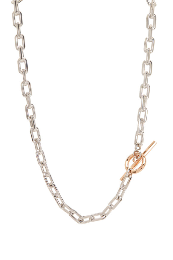 Walters Faith 18K Rose Gold & Silver Saxon Double Wrap Bracelet