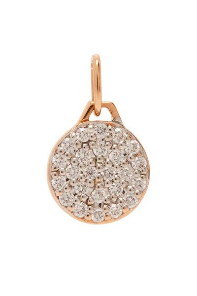 Walters Faith - 18K Rose Gold Diamond Mini Charm