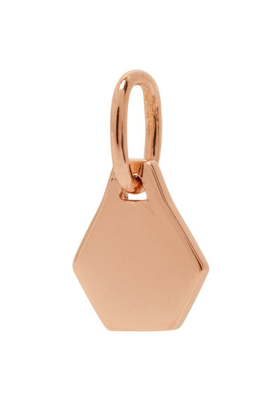 Walters Faith - 18K Rose Gold Dora MIni Hexagon Charm