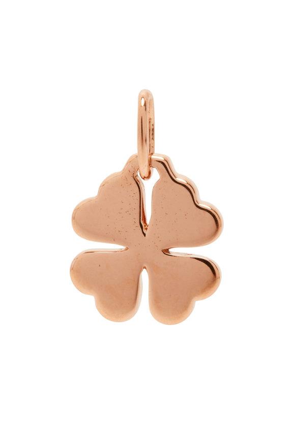 Walters Faith 18K Rose Gold Dora Mini Clover Charm