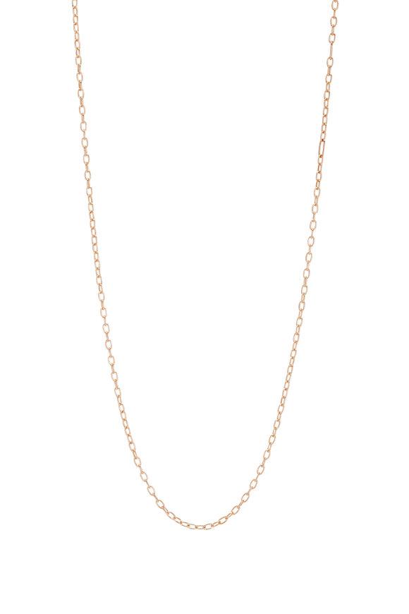 "Walters Faith 18K Rose Gold Medium Chain Necklace, 16"""