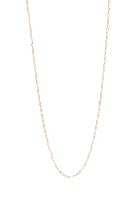 "Walters Faith 18K Rose Gold Medium Chain Necklace, 18"""
