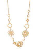 Cadar - 18K Yellow Gold Trio Bloom Necklace