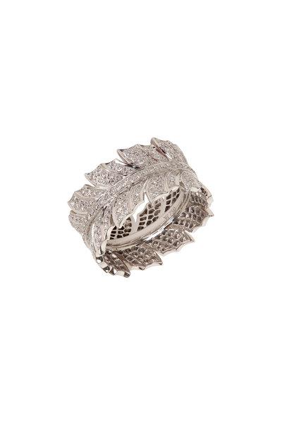 Stephen Webster - 18K White Gold Magnipheasant Pavé Ring