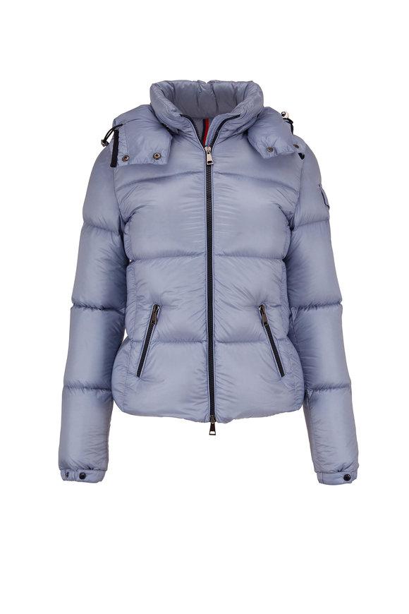 Moncler Light Blue Puffer Coat