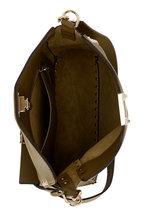 Valentino Garavani - Rockstud Selleria Leather Small Hobo Crossbody