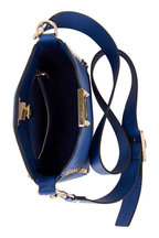 Valentino Garavani - Rockstud Royal Blue Mini Hobo Crossbody