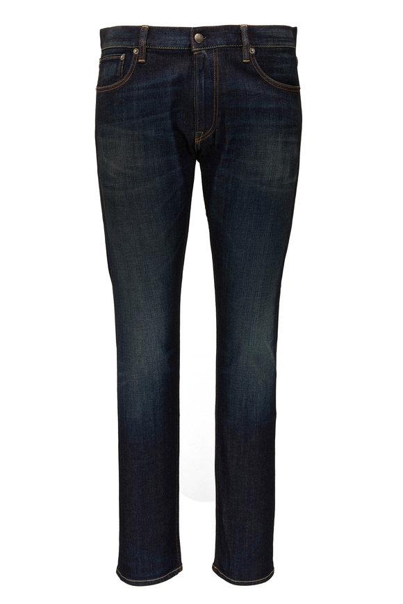 Ralph Lauren Dark Indigo Slim Fit Five Pocket Jean