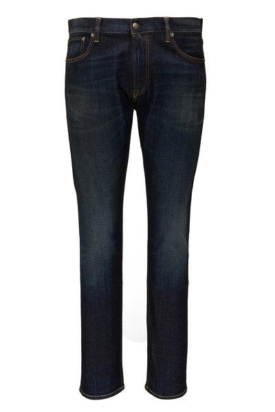 Ralph Lauren - Dark Indigo Slim Fit Five Pocket Jean