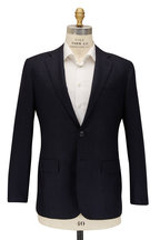Kiton - Solid Navy Cashmere Suit