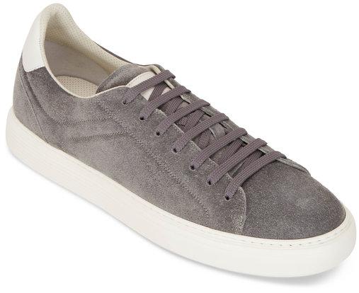 Brunello Cucinelli Gray Suede Air Sole Sneakers