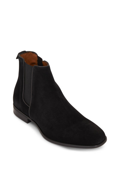 Aquatalia - Adrian Black Suede Weatherproof Boot