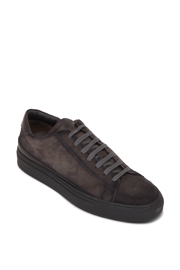 To Boot New York Degraw Gray Suede Sneaker