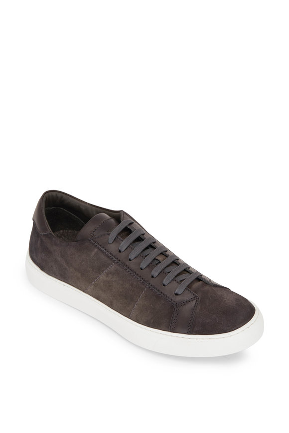 To Boot New York Malden Gray Suede Sneaker