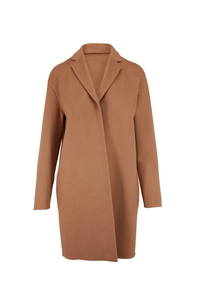 Akris - Mae Camel Double-Faced Camel Hair Coat