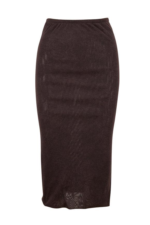 Peter Cohen Flint Printed Tulle Skirt