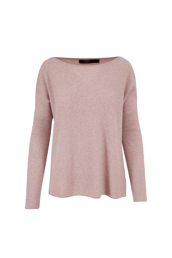 Raffi  Dusty Pink Cashmere Boatneck Sweater