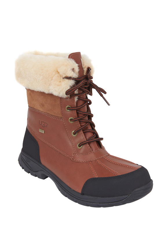 Ugg Butte Worchester Brown Leather Winter Boot