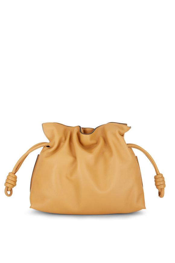 Loewe Flamenco Warm Desert Nappa Leather Clutch