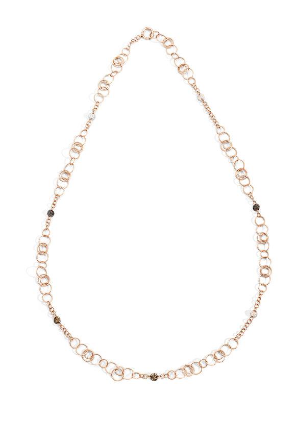 Pomellato 18K Rose Gold Sabbia Necklace