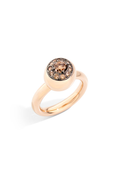 Pomellato - 18K Rose Gold Diamond Nuvola Ring