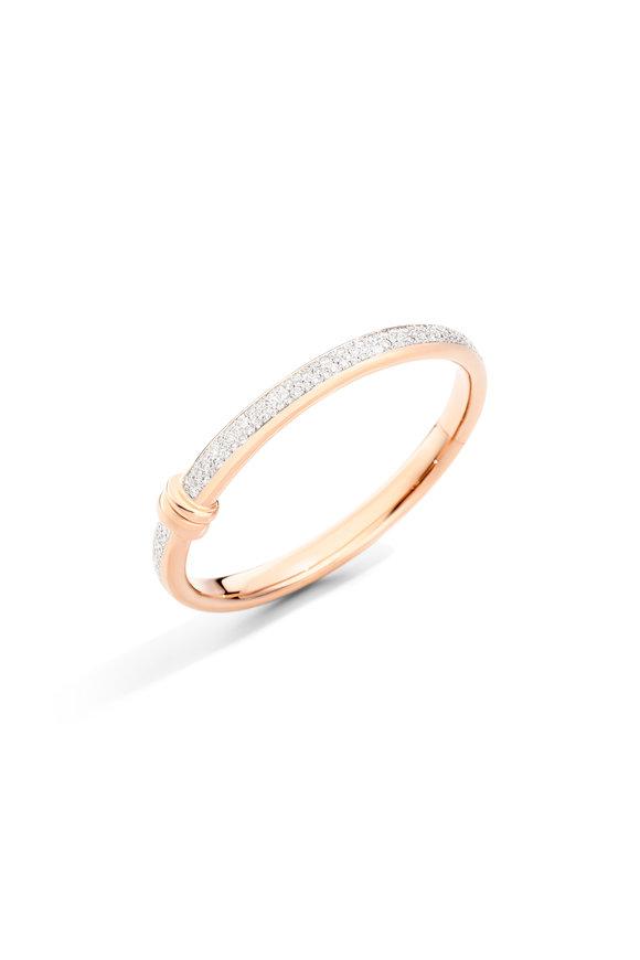 Pomellato 18K Rose Gold Diamond Iconica Bracelet