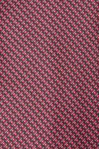 Brioni - Pink & Purple Geometric Pattern Silk Necktie