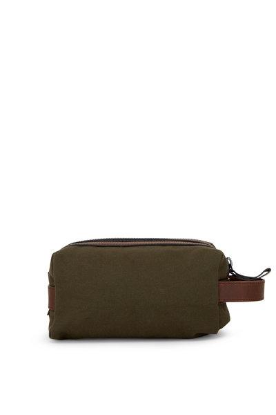 Shinola - Mack Moss Green Travel Kit