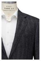 Canali - Gray Tonal Wool & Silk Sportcoat