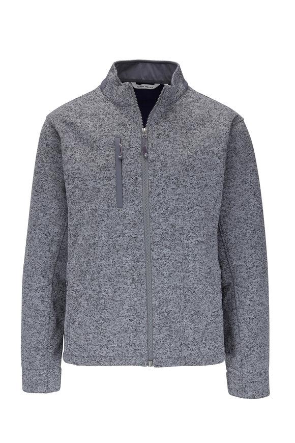 Peter Millar Condor Gray Fleece Jacket