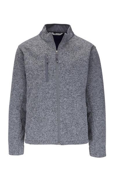 Peter Millar - Condor Gray Fleece Jacket