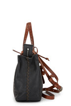 Henry Beguelin - Melodie Black Leather Small Crossbody Bag
