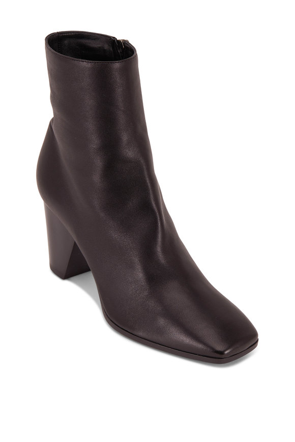Pierre Hardy Dalva Black Leather Ankle Bootie, 75mm
