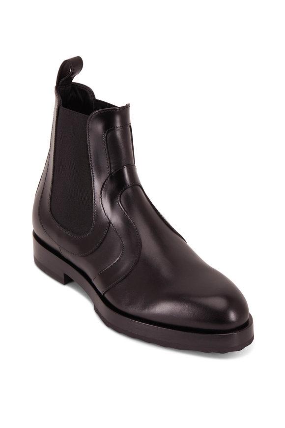 Pierre Hardy Alpha Swin Black Double Gore Flat Ankle Boot