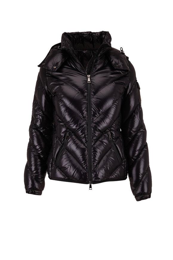 Moncler Brouel Black Puffer Coat