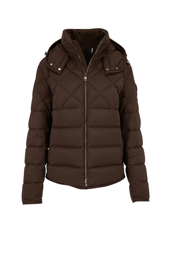Moncler Cecaud Military Green Matte Puffer Jacket