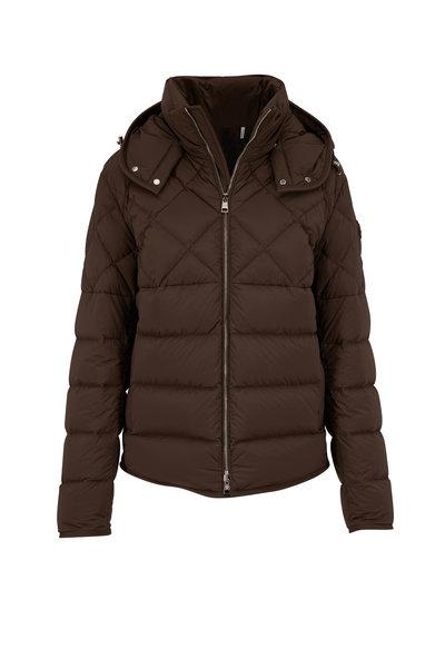 Moncler - Cecaud Military Green Matte Puffer Jacket