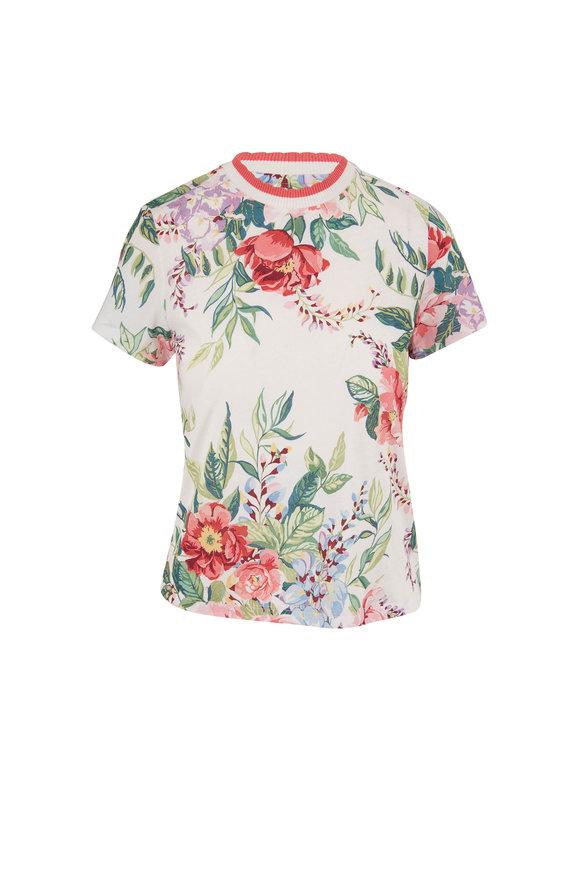 Zimmermann Bellitude Multicolor Floral T-Shirt