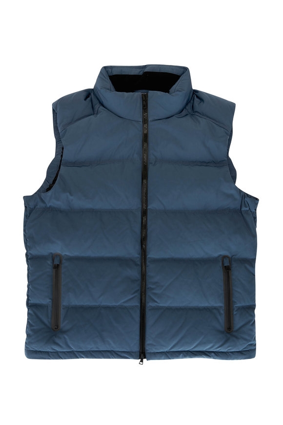 Orlebar Brown Sommers Gray Technical Puffer Vest