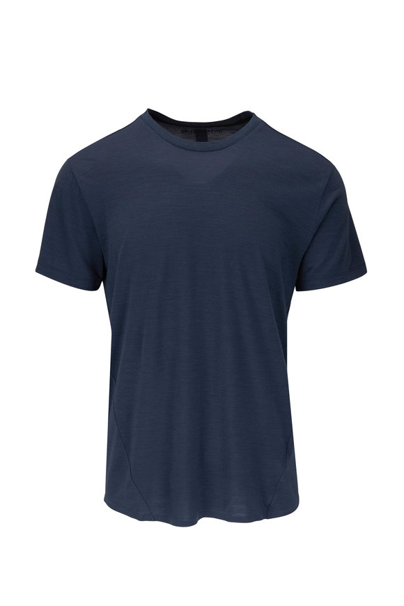 Orlebar Brown Sammy Gray Technical Short Sleeve T-Shirt