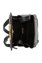 Dolce & Gabbana - Amore Black Leather Saddle Crossbody Bag