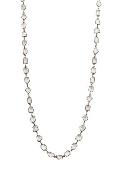Loriann - Medium Quartz Stone Necklace