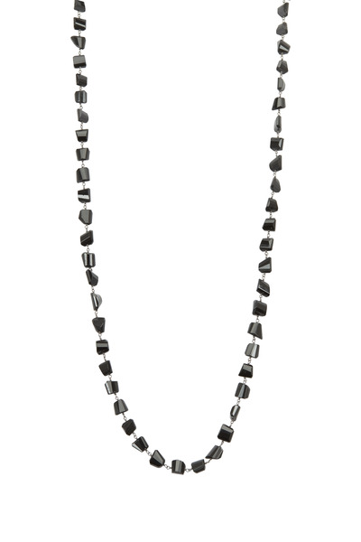 Loriann - Black Spinel Chain Necklace