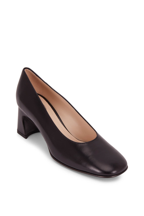 Tod's Black Smooth Leather Pump, 60mm