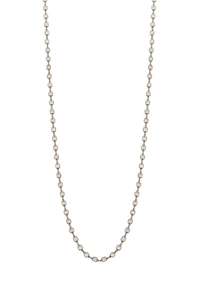 Loriann - Small Moonstone Accessory Necklace