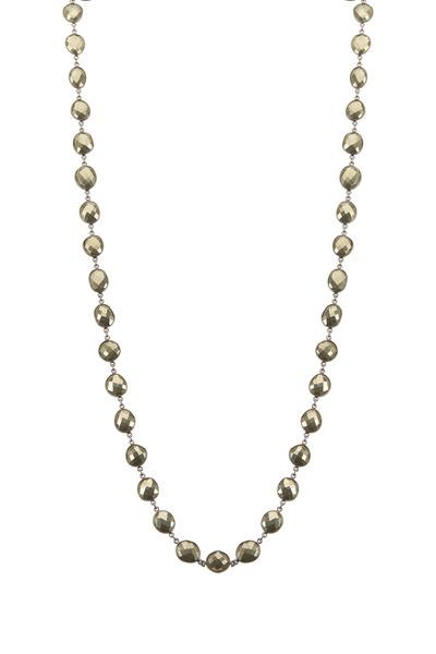 Loriann - Sterling Silver Pyrite Accessory Chain