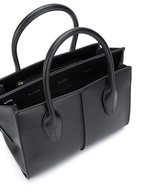 Tod's - Manici Black Leather Medium Shopper Tote