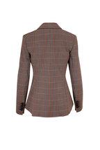 Veronica Beard - Gia Multi Plaid Single Button Dickey Jacket